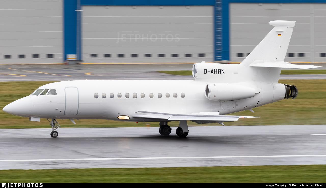 D-AHRN - Dassault Falcon 900EX - Heron Aviation