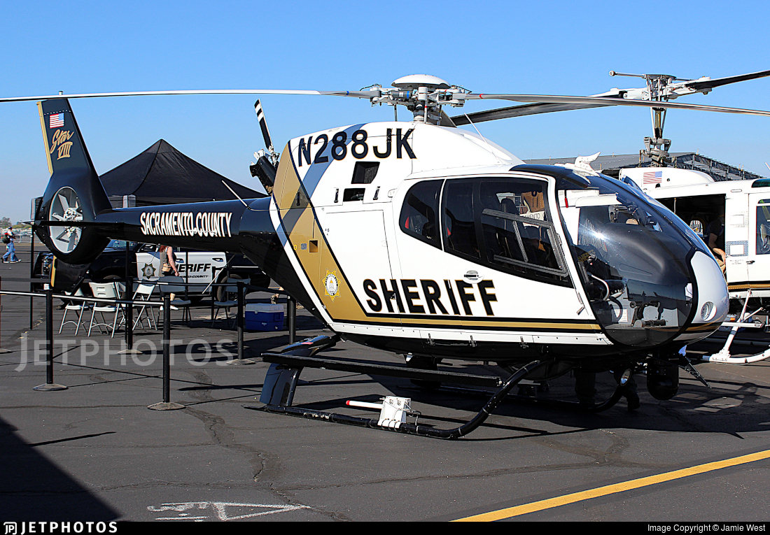 N288JK - Eurocopter EC 120B Colibri - United States - Sacramento County Sheriff