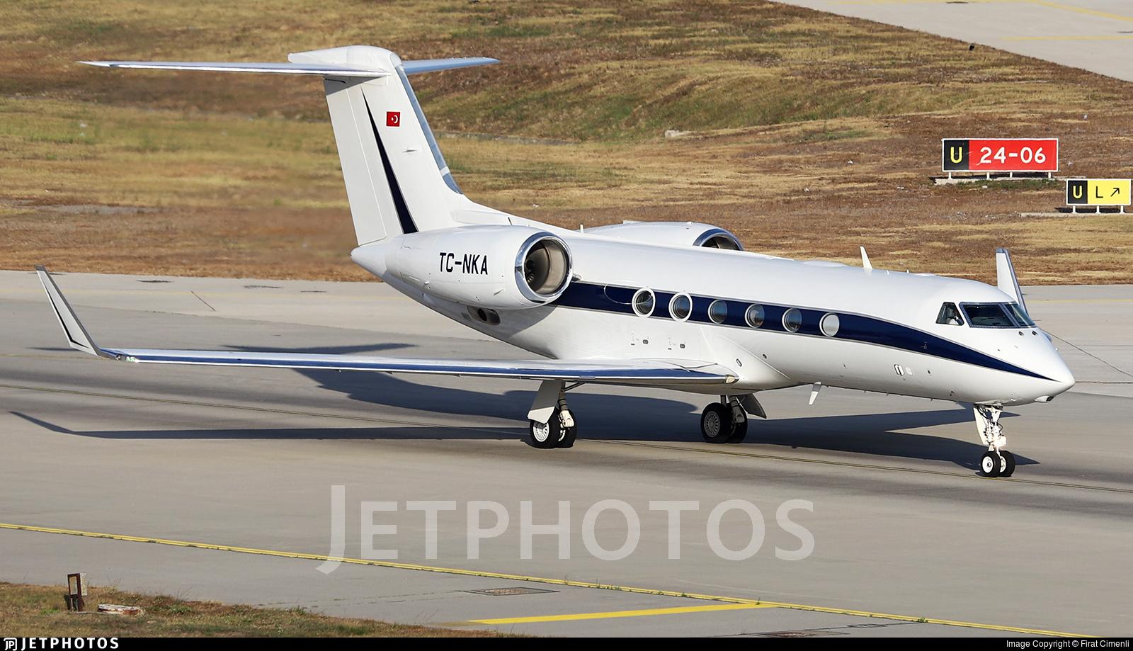 TC-NKA - Gulfstream G450 - Private