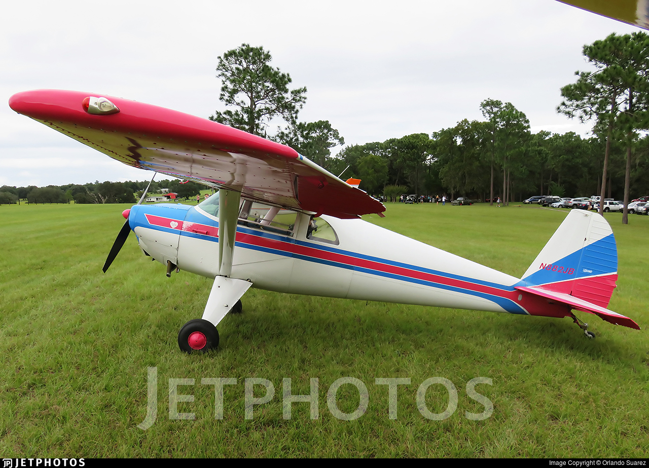 N882JB - Luscombe 8F Silvaire - Private