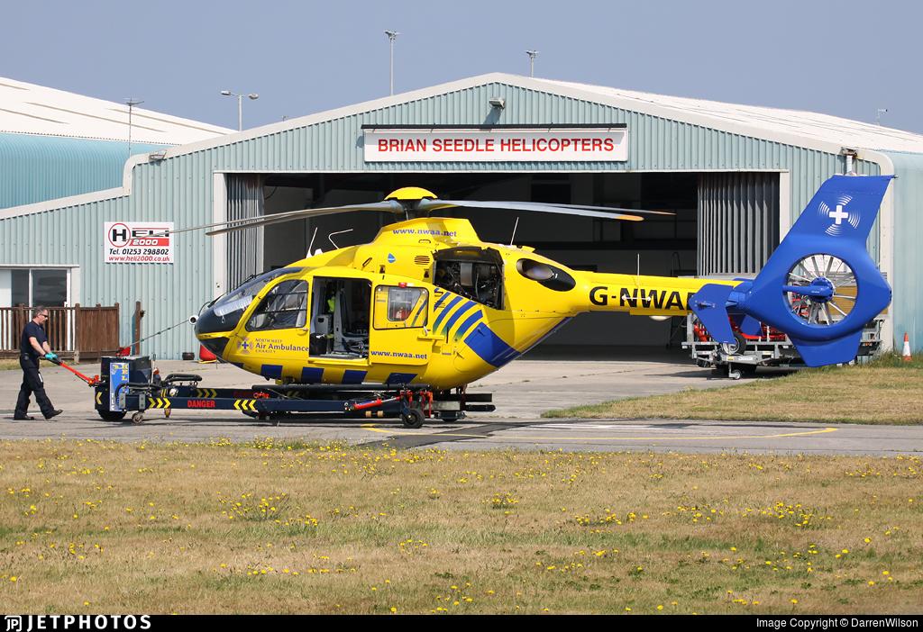 G-NWAE - Eurocopter EC 135T2 - Bond Air Services