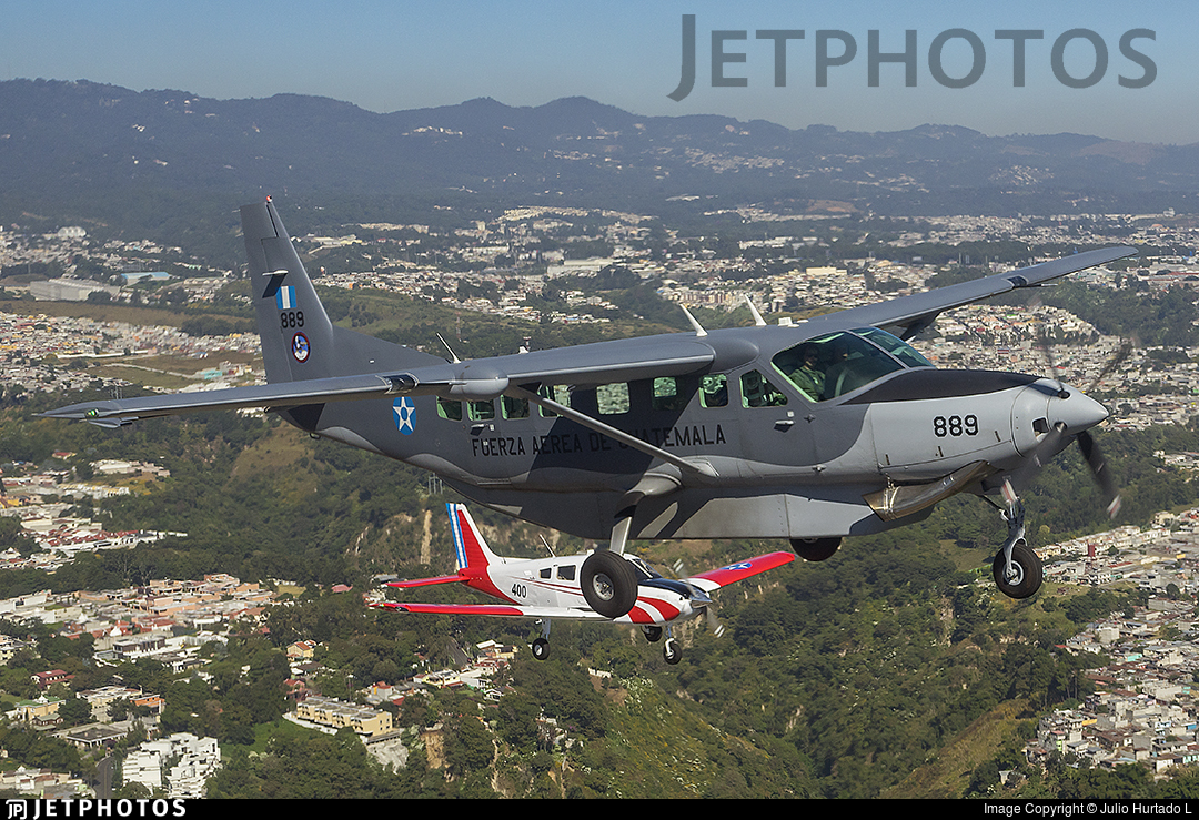 889 - Cessna 208B Grand Caravan EX - Guatemala - Air Force