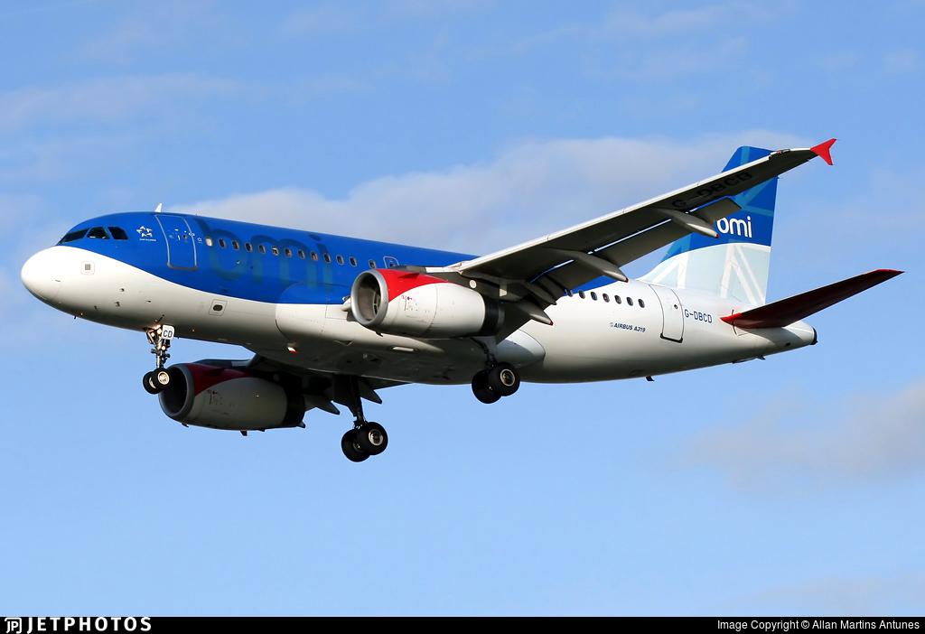 G-DBCD - Airbus A319-131 - bmi British Midland International