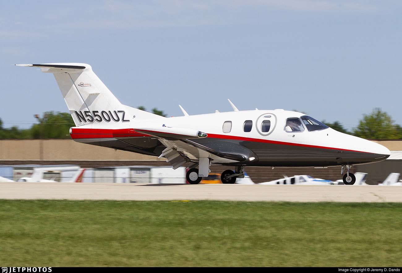 N550UZ - Eclipse Aviation Eclipse 550 - Private
