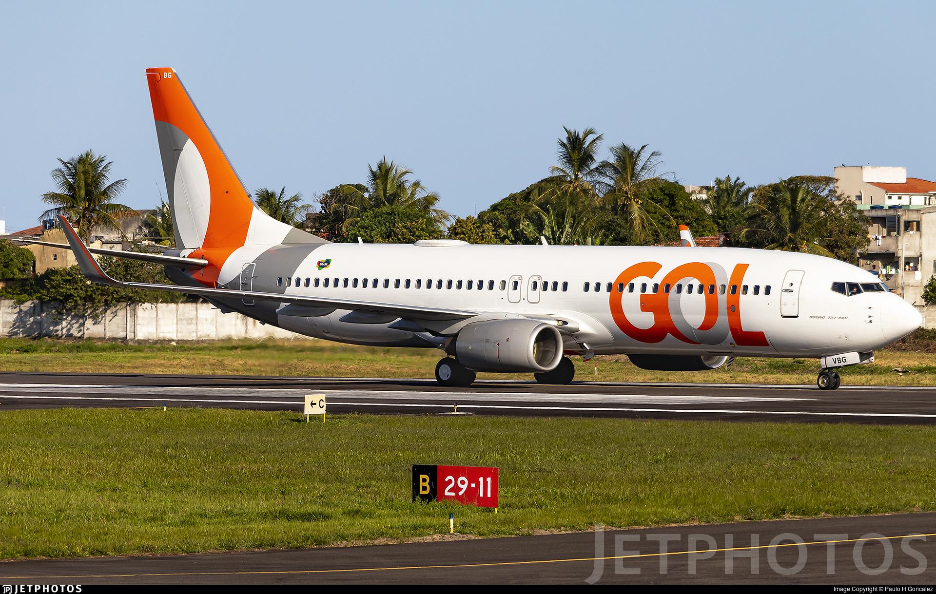 PR-VBG - Boeing 737-8EH - GOL Linhas Aereas
