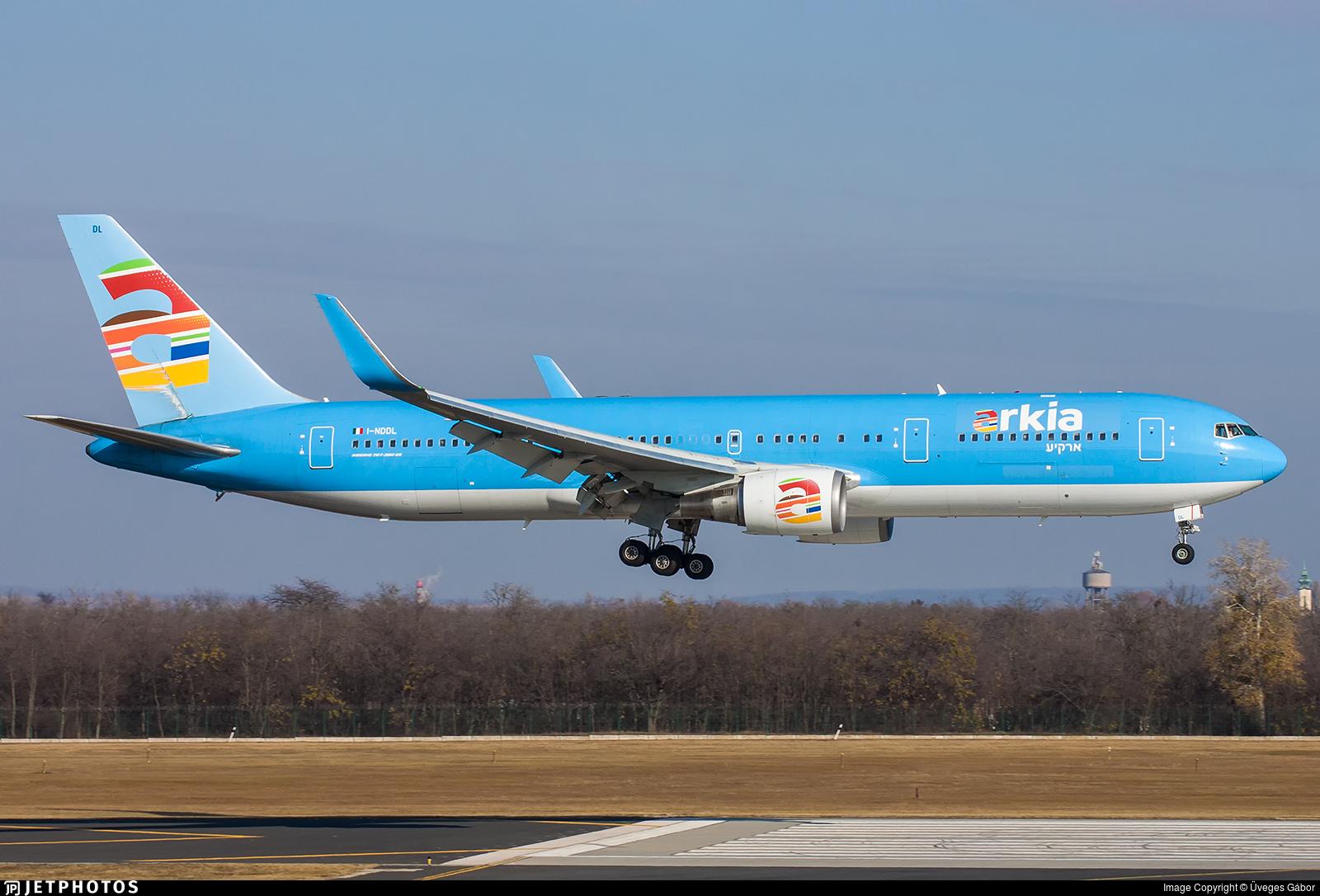 I-NDDL - Boeing 767-324(ER) - Arkia Israeli Airlines (Neos)