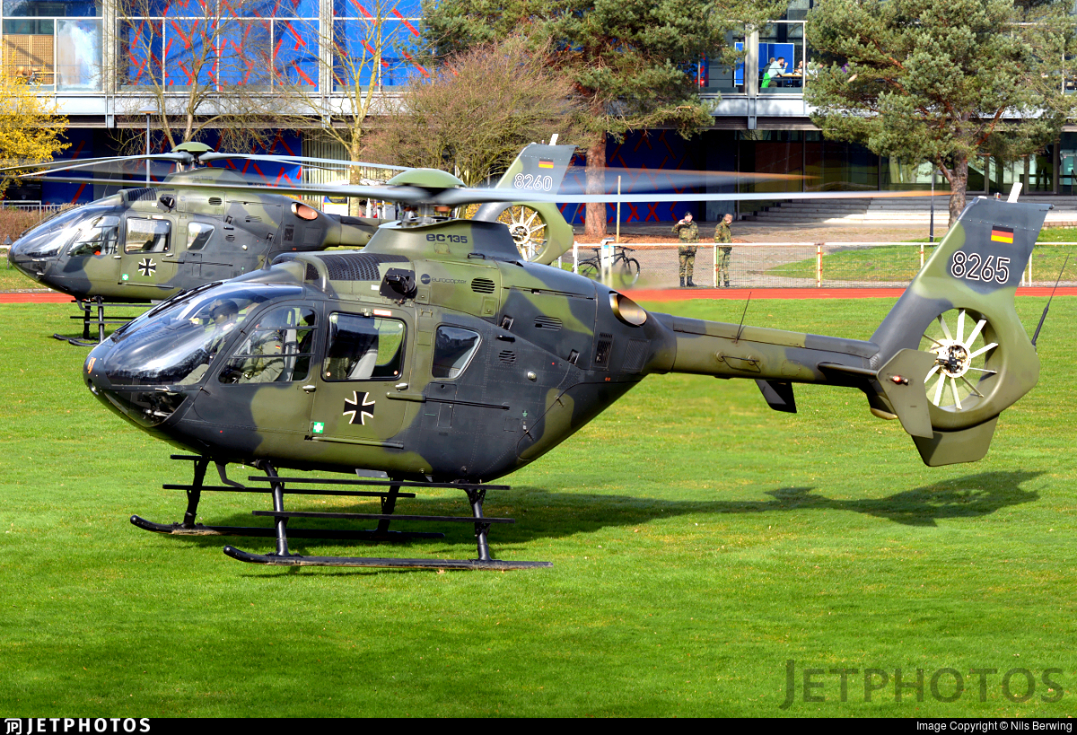 82-65 - Eurocopter EC 135T1 - Germany - Army