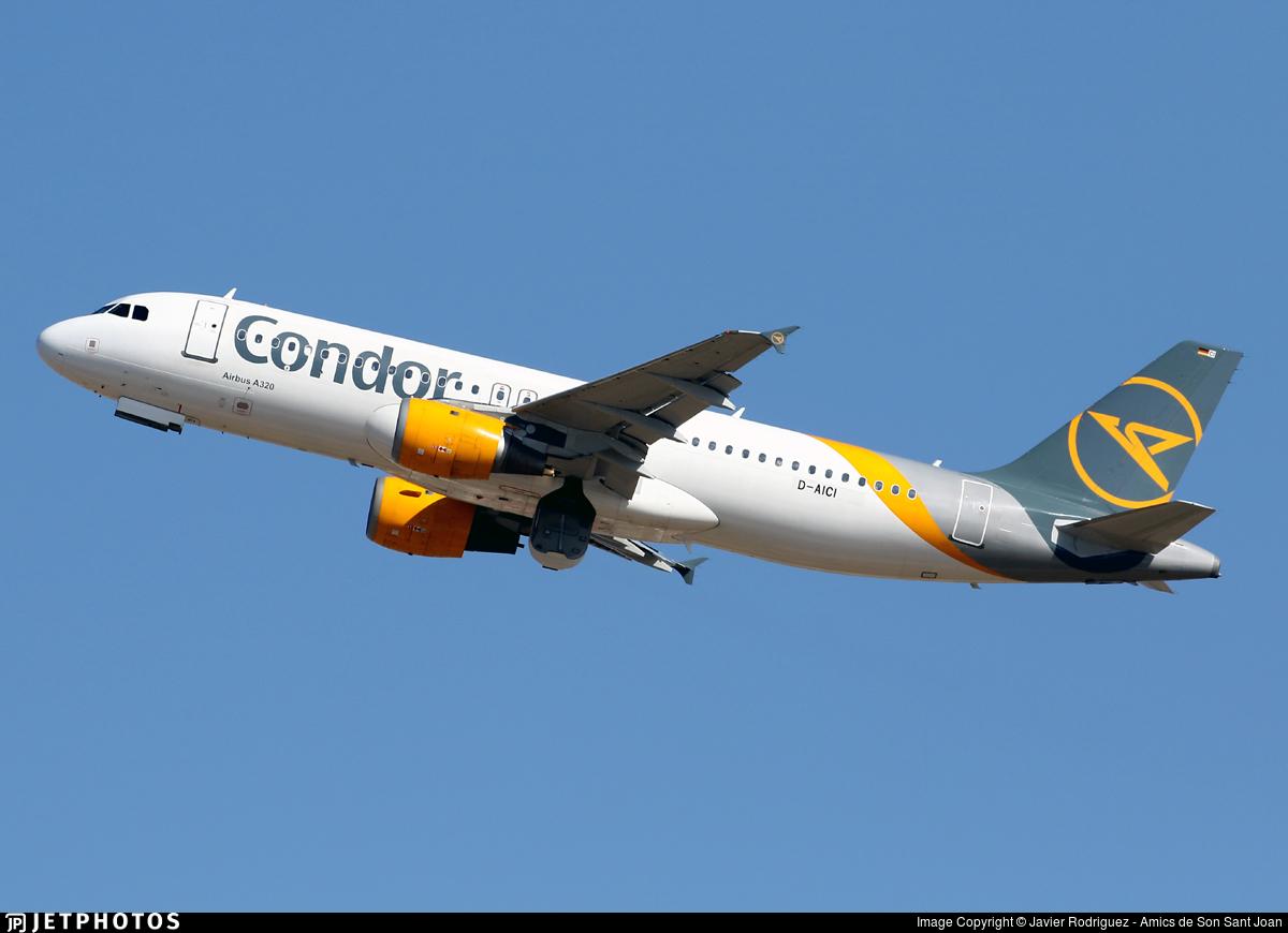 D-AICI - Airbus A320-212 - Condor