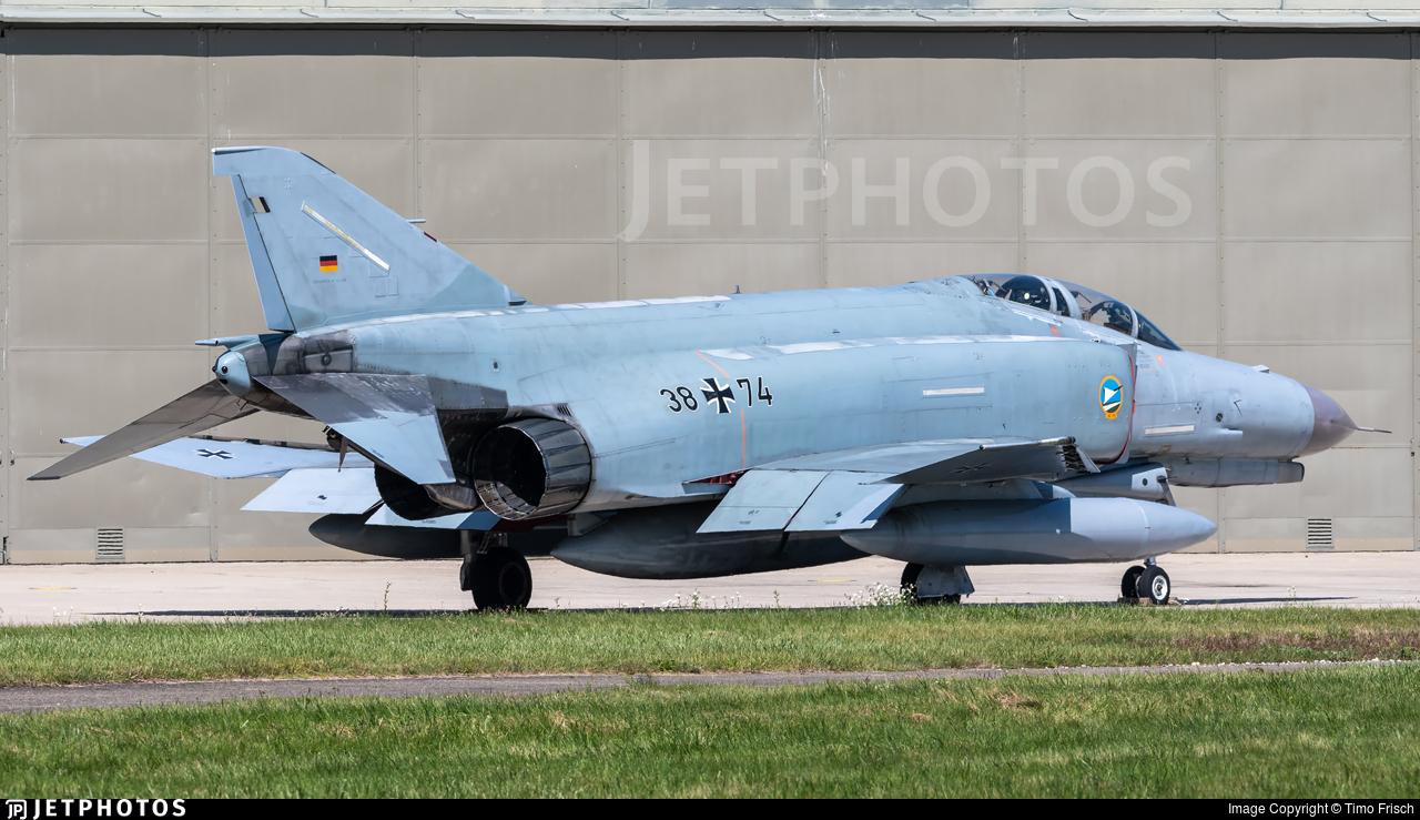 38-74 - McDonnell Douglas F-4F Phantom II - Germany - Air Force