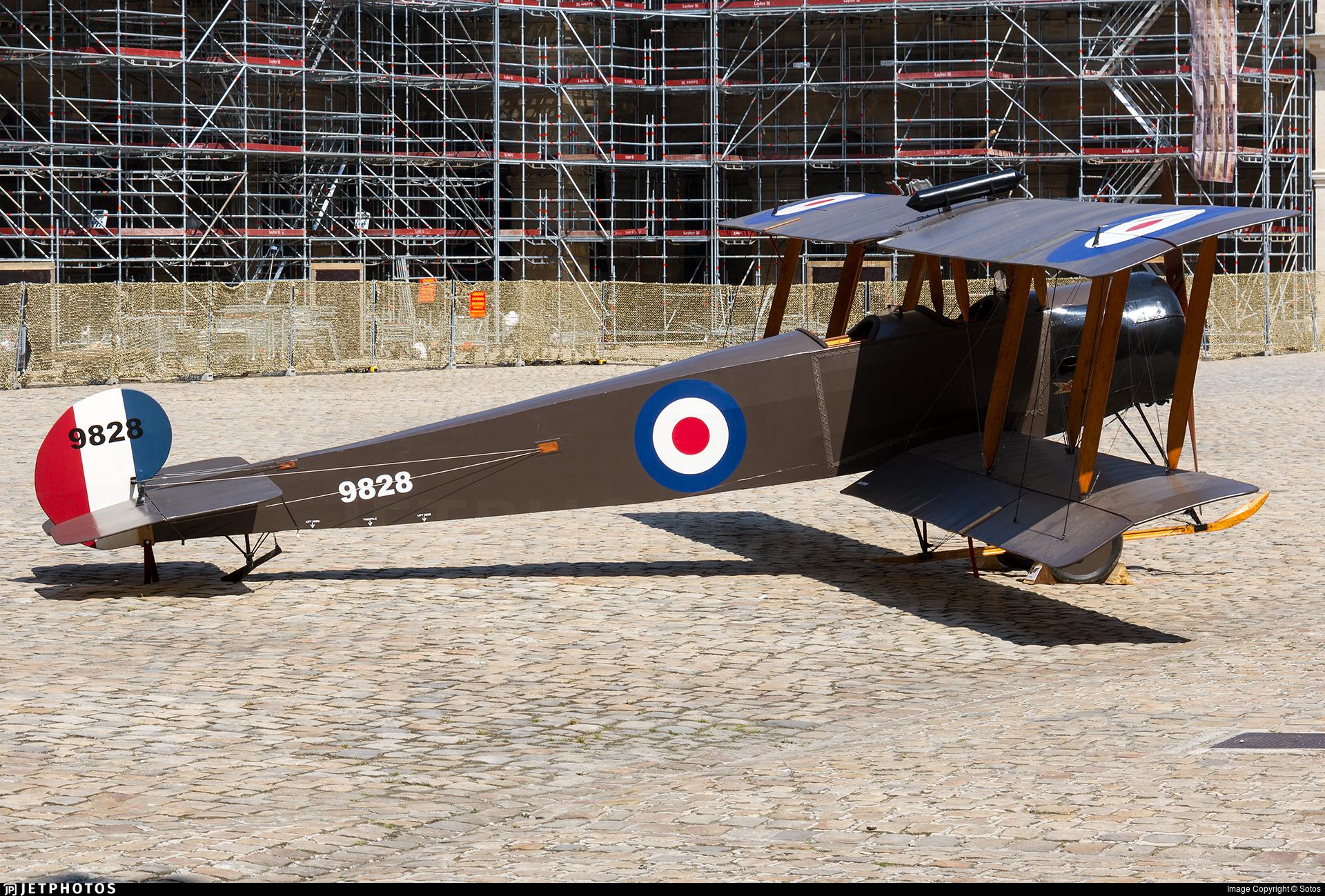 9828 - Avro 504K - United Kingdom - Royal Flying Corps (RFC)