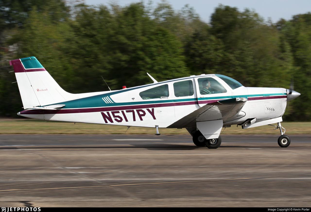 N517PY - Beechcraft F33A Bonanza - Private