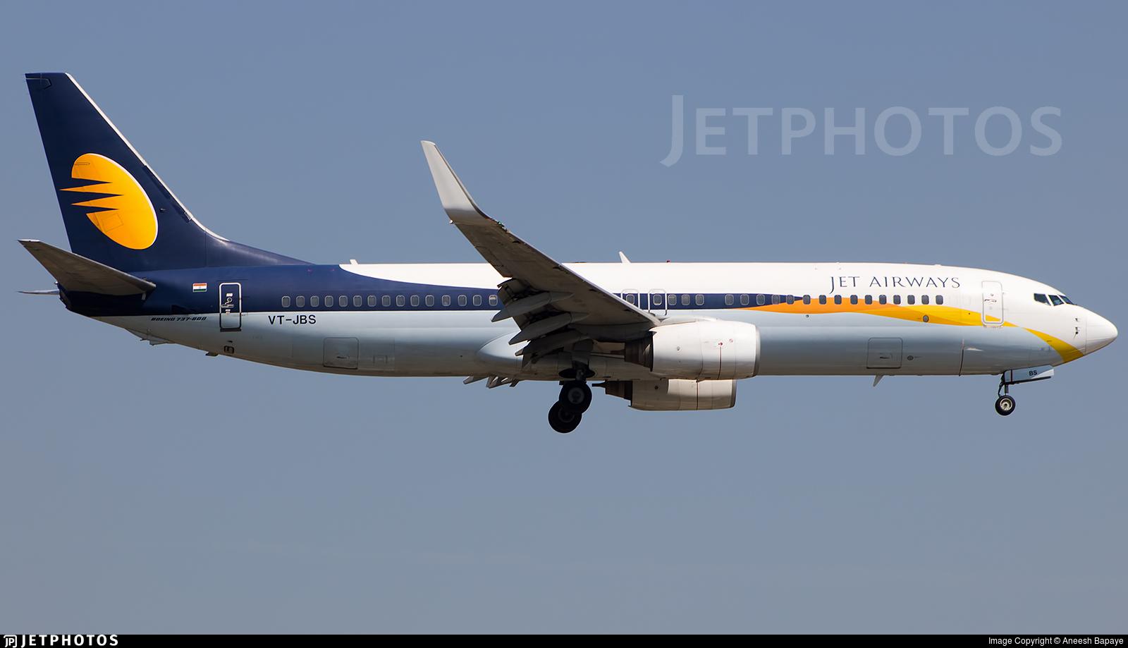 VT-JBS - Boeing 737-85R - Jet Airways