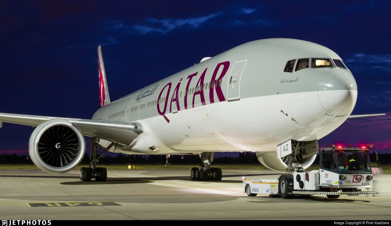 A7-BAZ - Boeing 777-3DZER - Qatar Airways