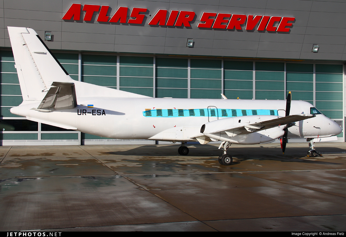 UR-ESA - Saab 340B+ - Air Urga