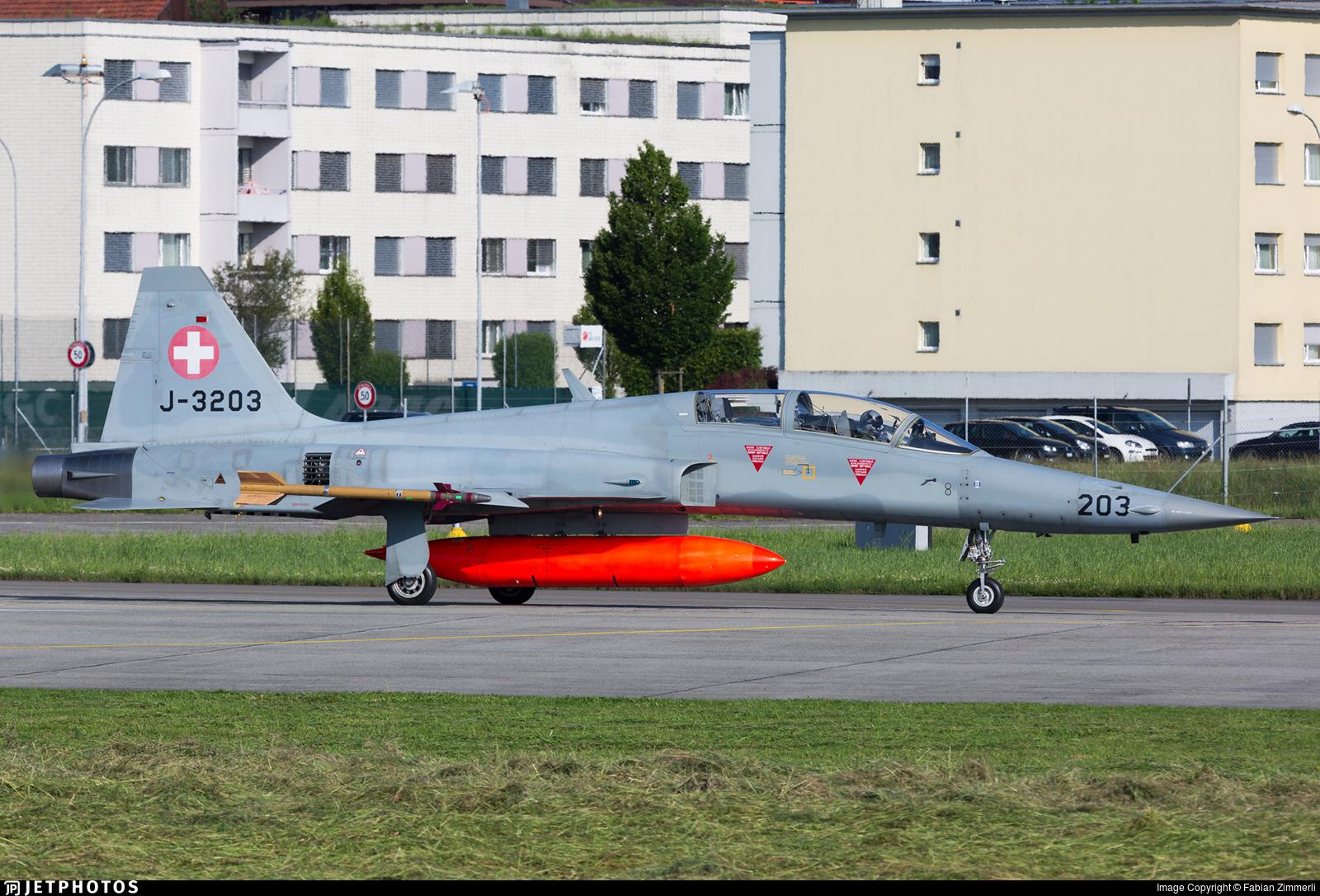 J-3203 - Northrop F-5F Tiger II - Switzerland - Air Force