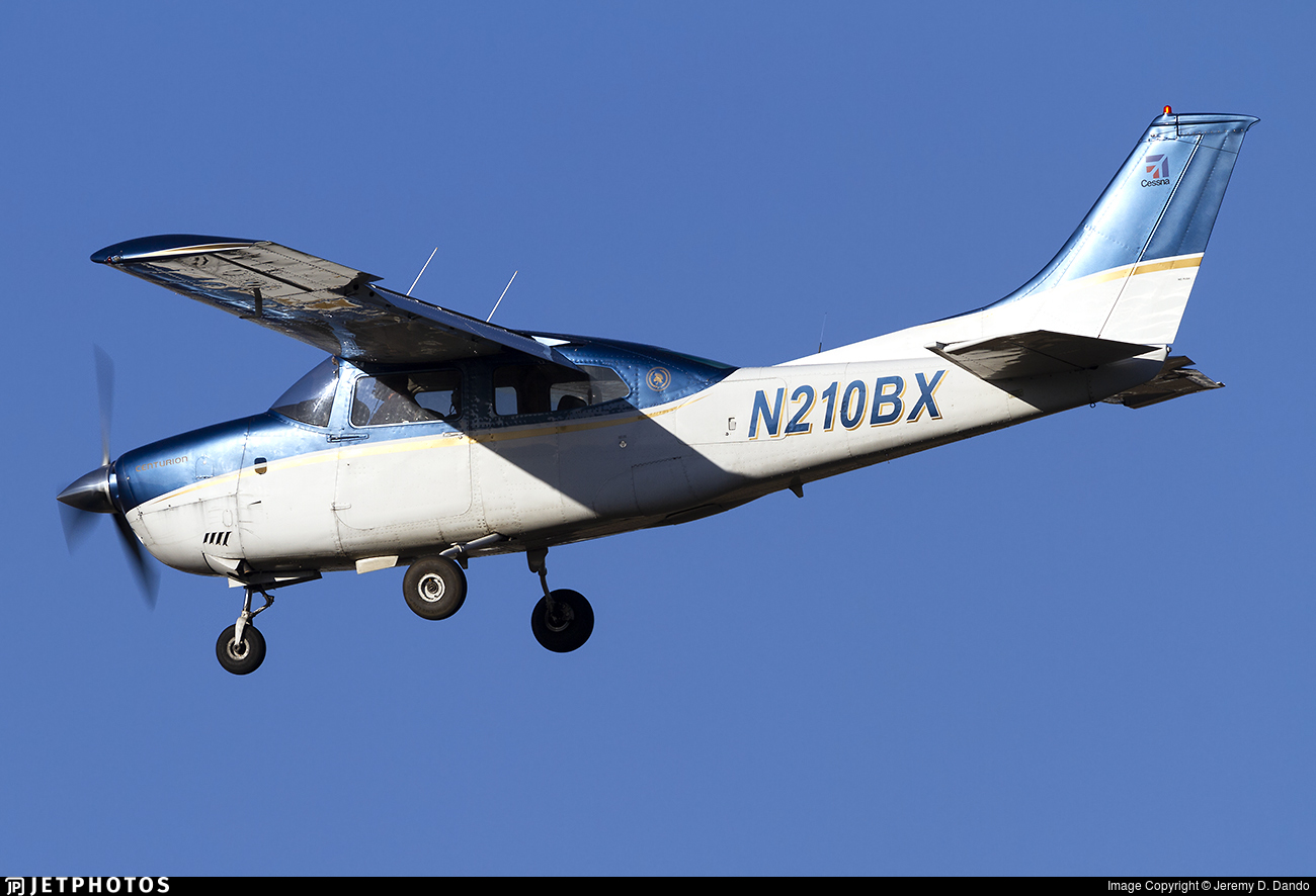 N210BX - Cessna 210L Centurion - Private