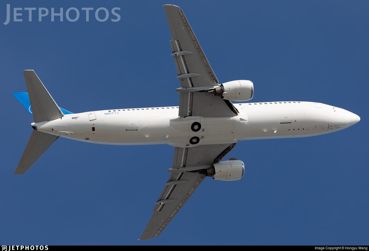 N807TJ - Boeing 737-4Q8 - iAero Airways