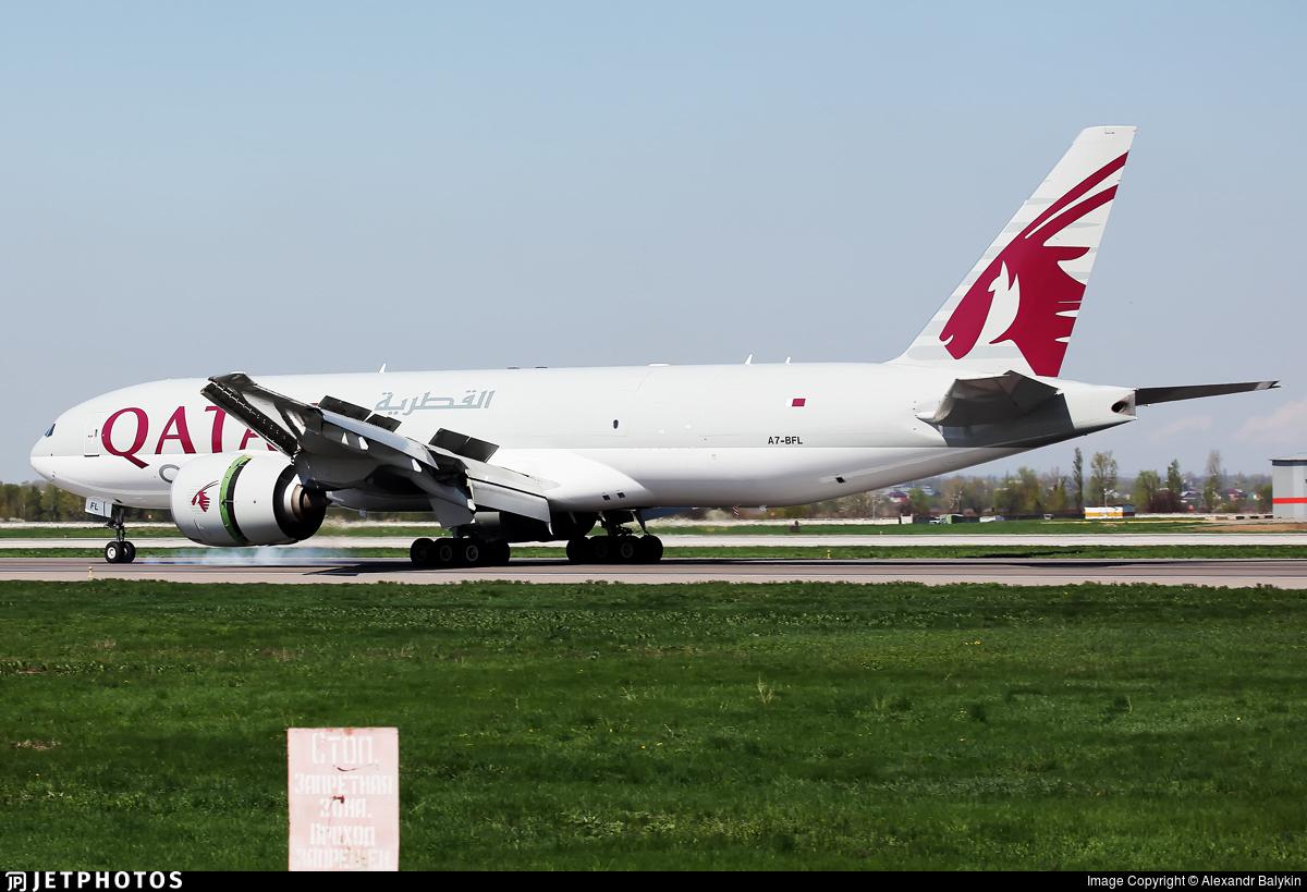 A7-BFL - Boeing 777-FDZ - Qatar Airways Cargo