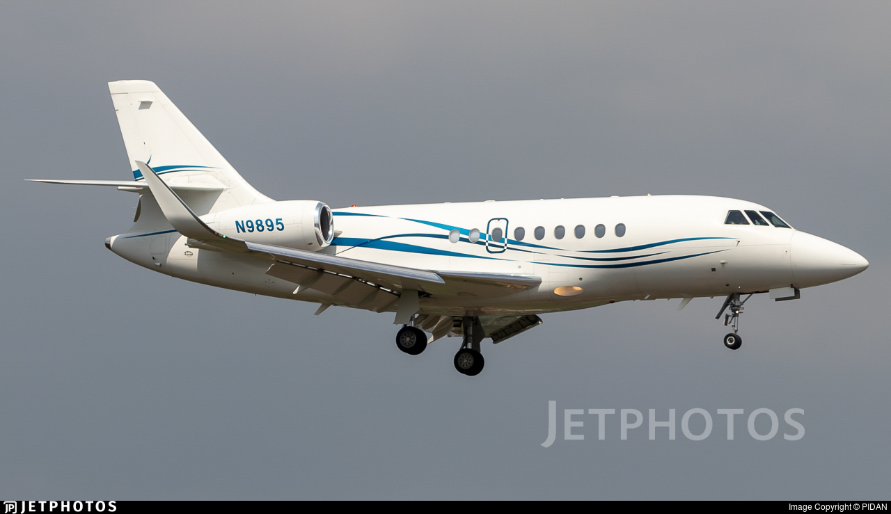 N9895 - Dassault Falcon 2000EX - Private