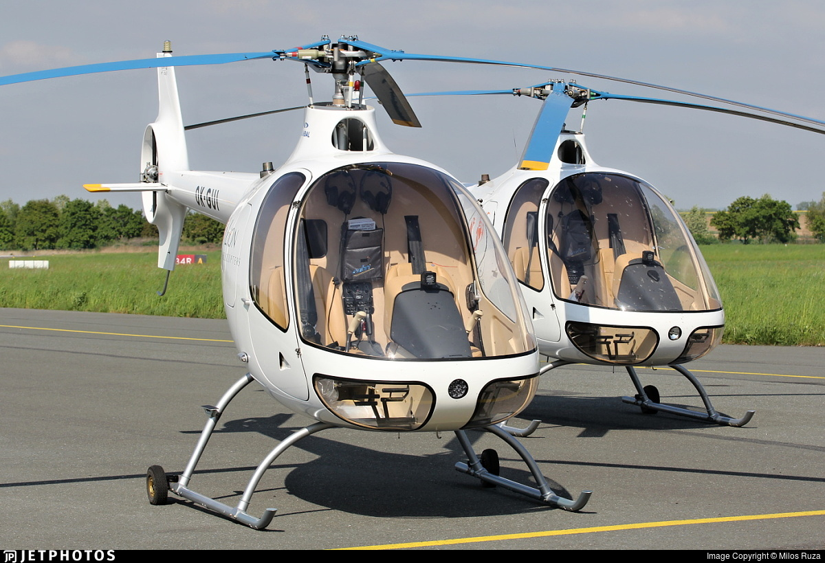 OK-GUI - Guimbal Cabri G2 - LION Helicopters