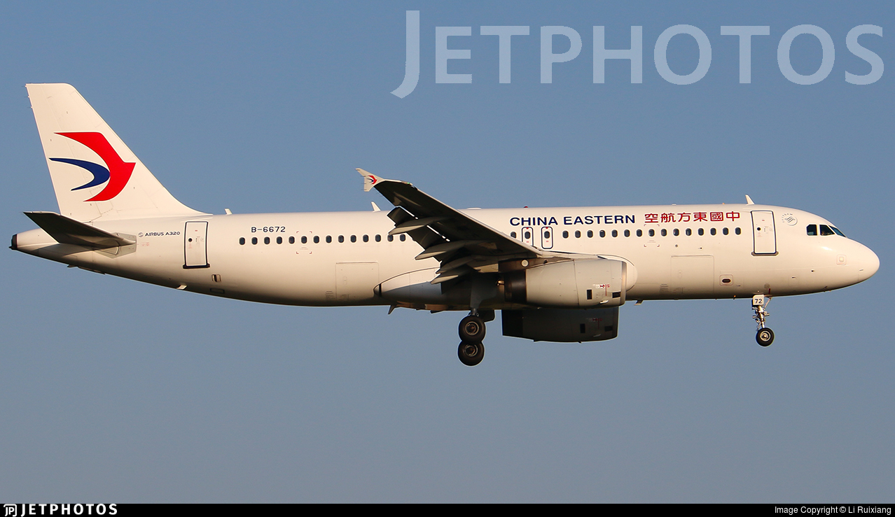 B-6672 - Airbus A320-232 - China Eastern Airlines