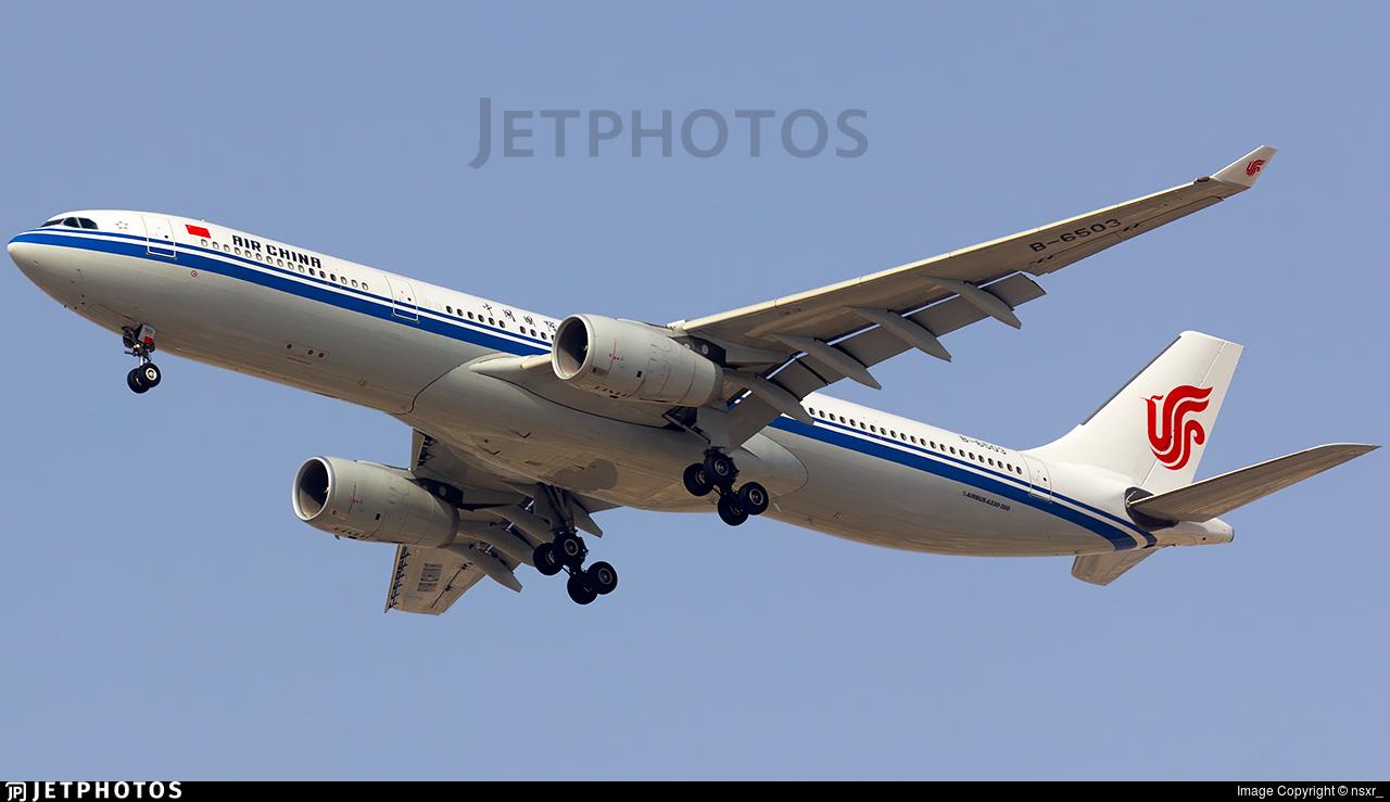 B-6503 - Airbus A330-343 - Air China