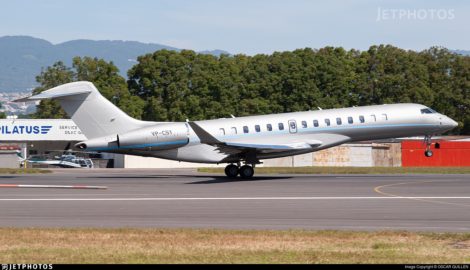 VP-CSY - Bombardier BD-700-2A12 Global 7500  - Private