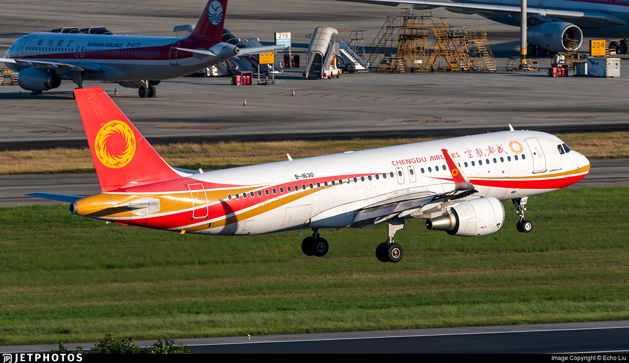 B-1630 - Airbus A320-214 - Chengdu Airlines