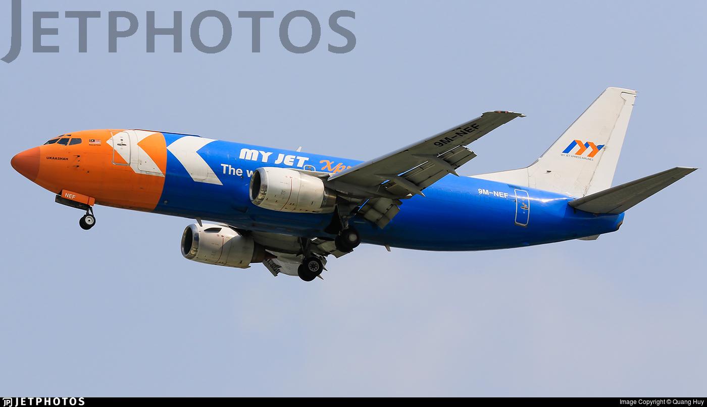 9M-NEF - Boeing 737-3S3(SF) - My Jet Xpress