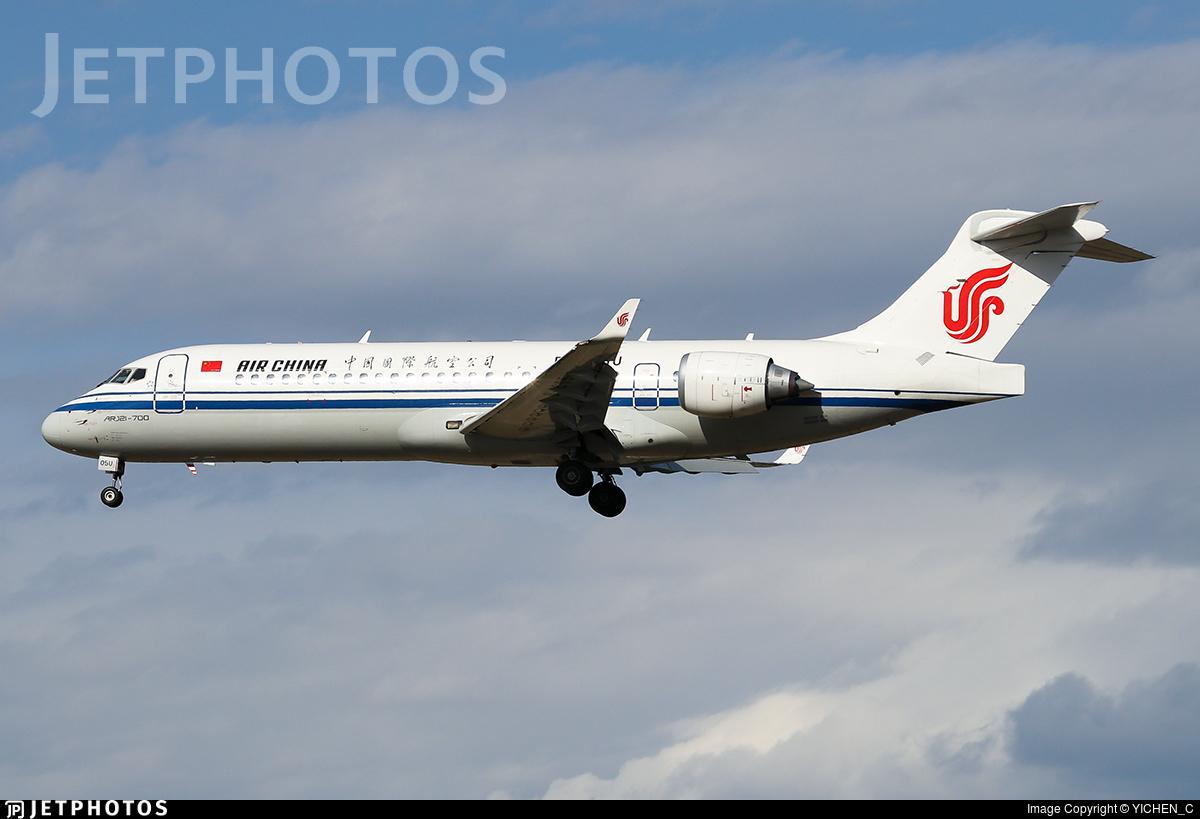 B-605U - COMAC ARJ21-700 - Air China