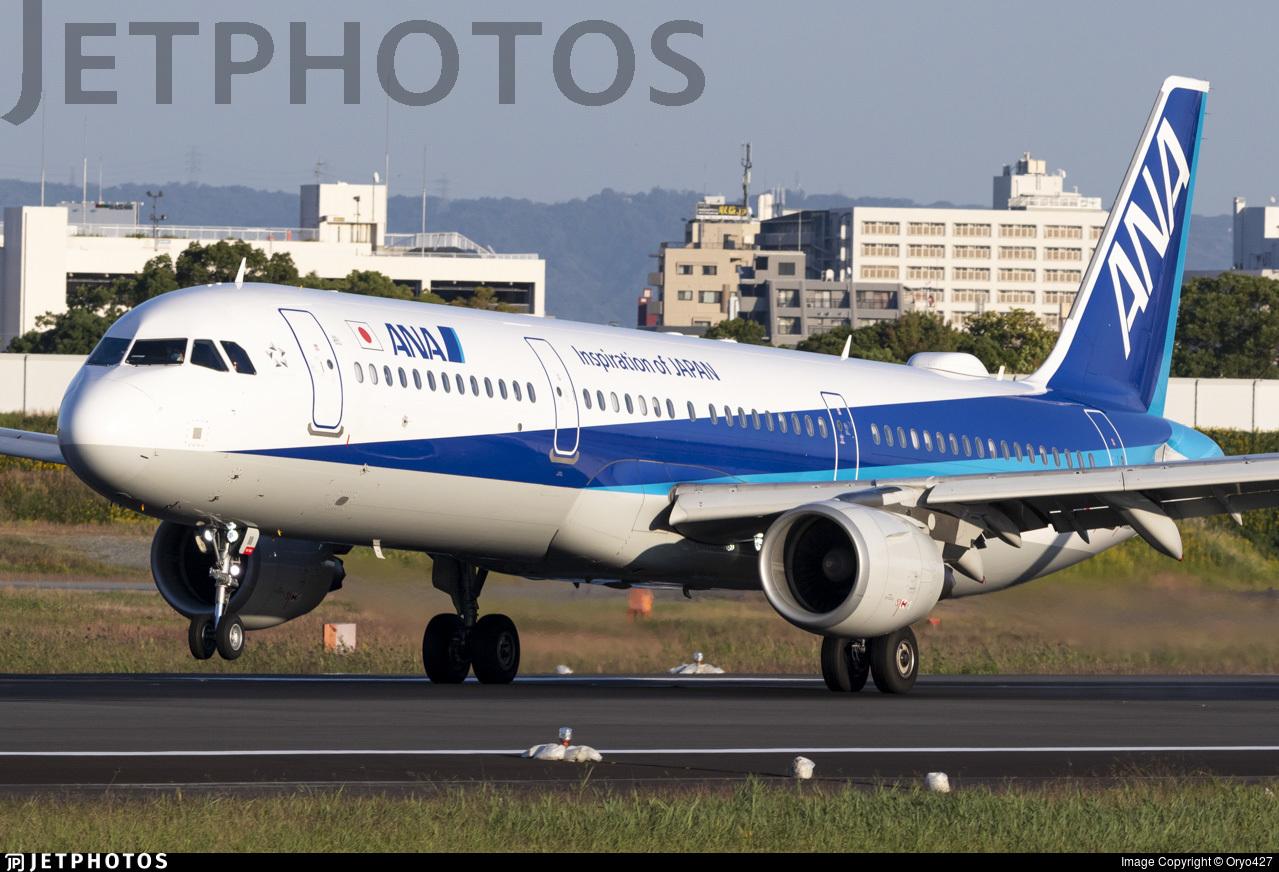 JA111A - Airbus A321-211 - All Nippon Airways (ANA)