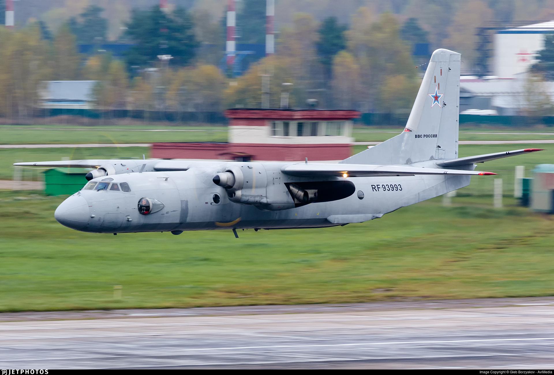 RF-93993 - Antonov An-26 - Russia - Air Force