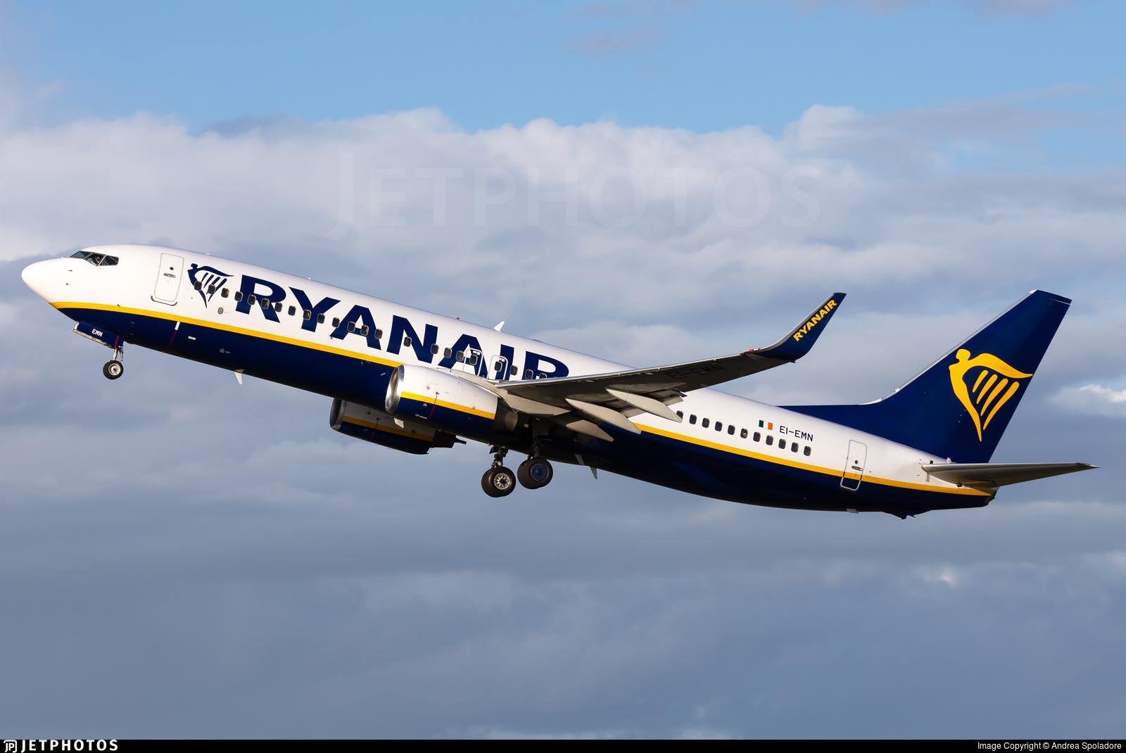 EI-EMN - Boeing 737-8AS - Ryanair