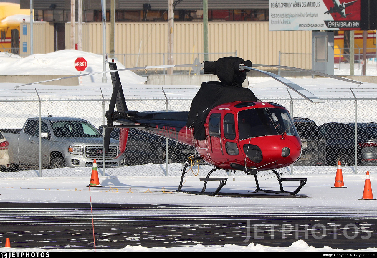 C-GVED - Aérospatiale AS 350B2 Ecureuil - Panorama Helicopters