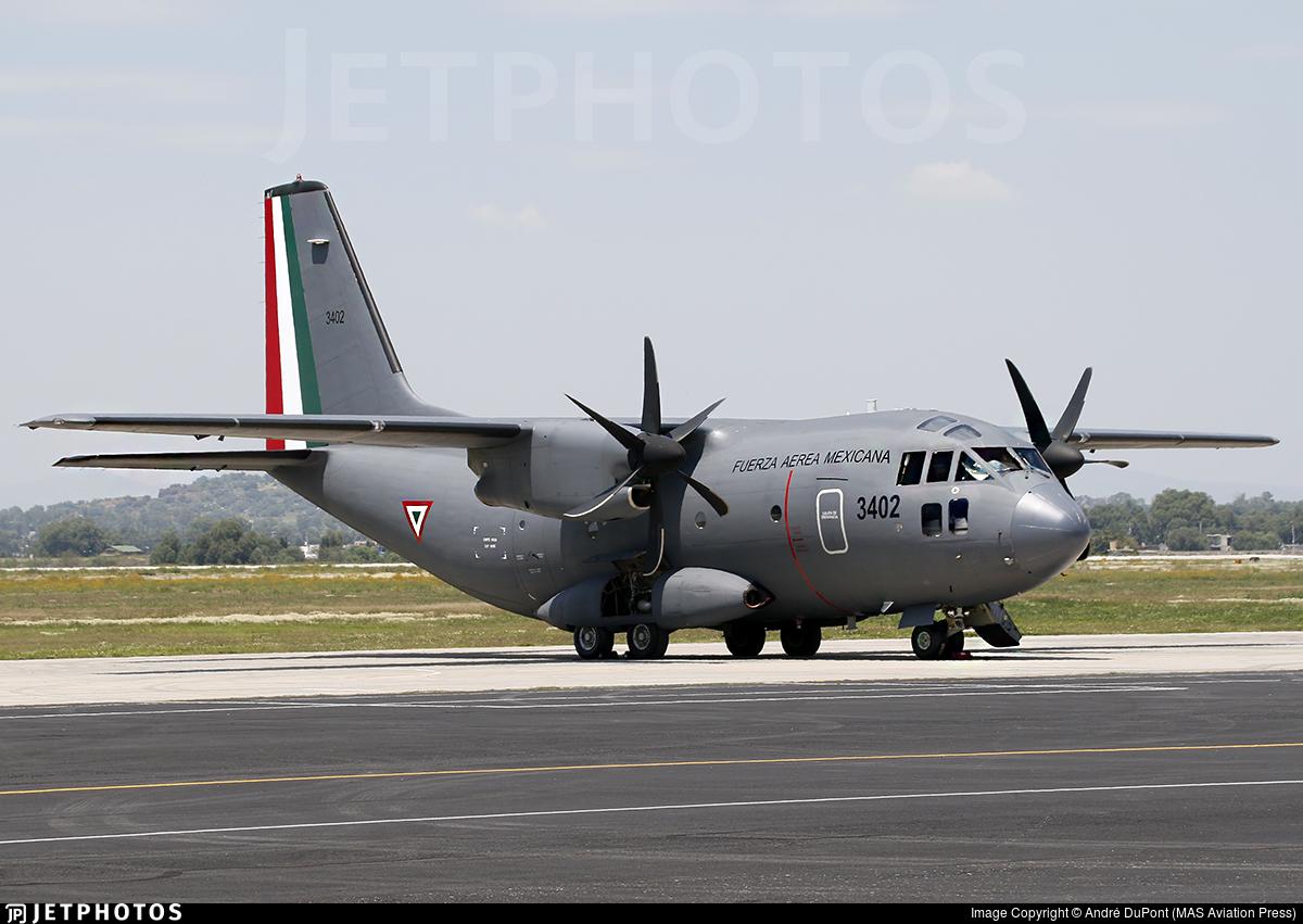 3402 - Alenia C-27J Spartan - Mexico - Air Force
