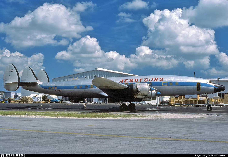 HI-329 - Lockheed L-1049 Super Constellation - Aerotours Dominicano