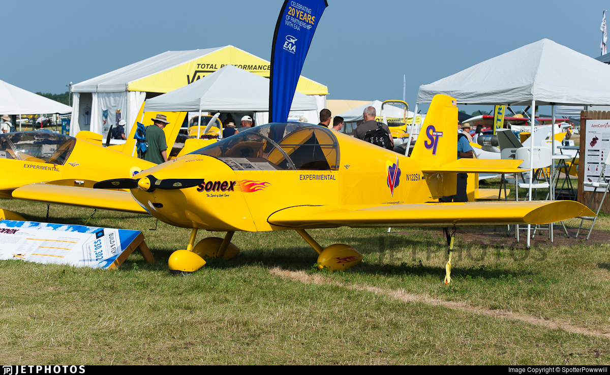 N122SX - Sonex ST - Sonex