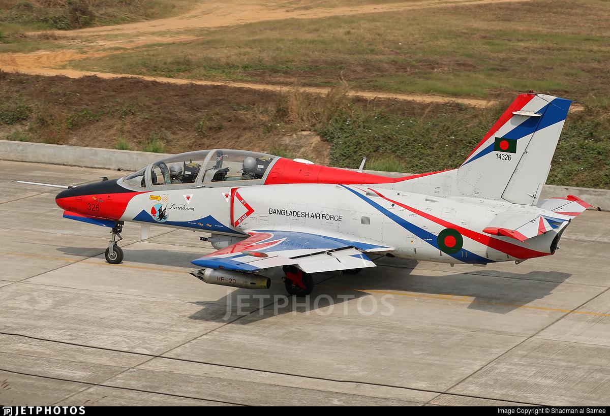 14326 - NAMC/PAC JL-8W - Bangladesh - Air Force