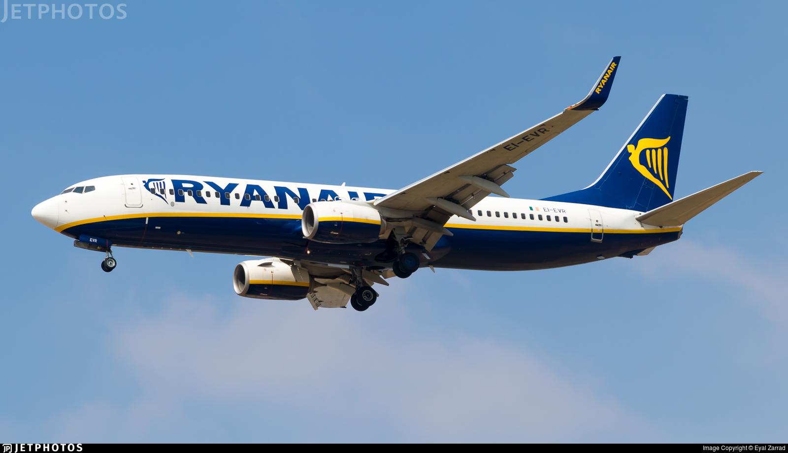 EI-EVR - Boeing 737-8AS - Ryanair