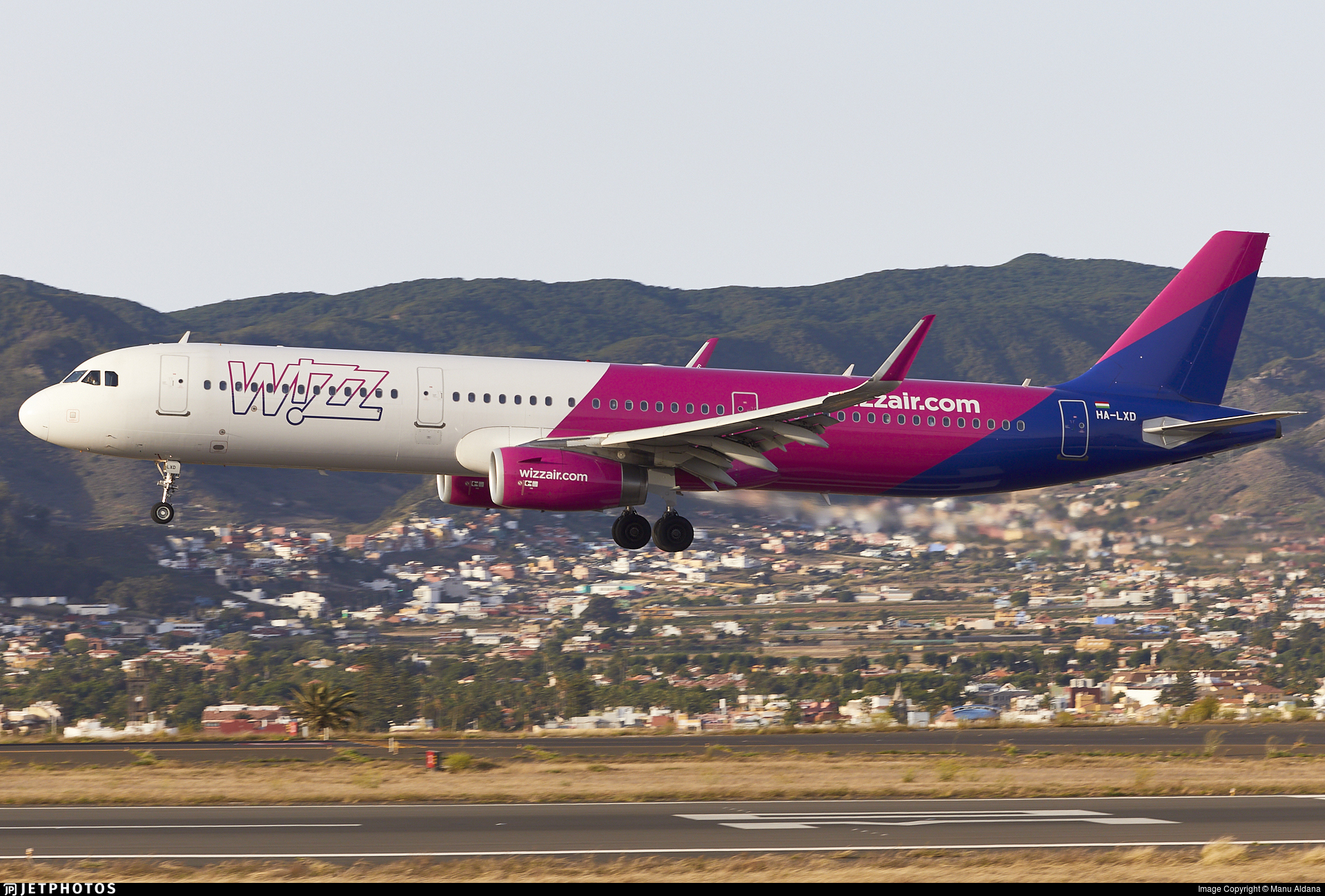 HA-LXD - Airbus A321-231 - Wizz Air