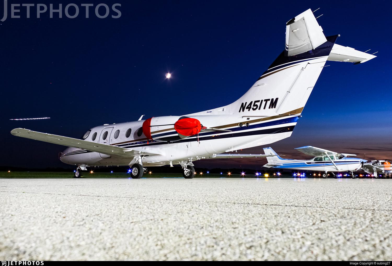 N451TM - Beechcraft 400XP Beechjet - Private