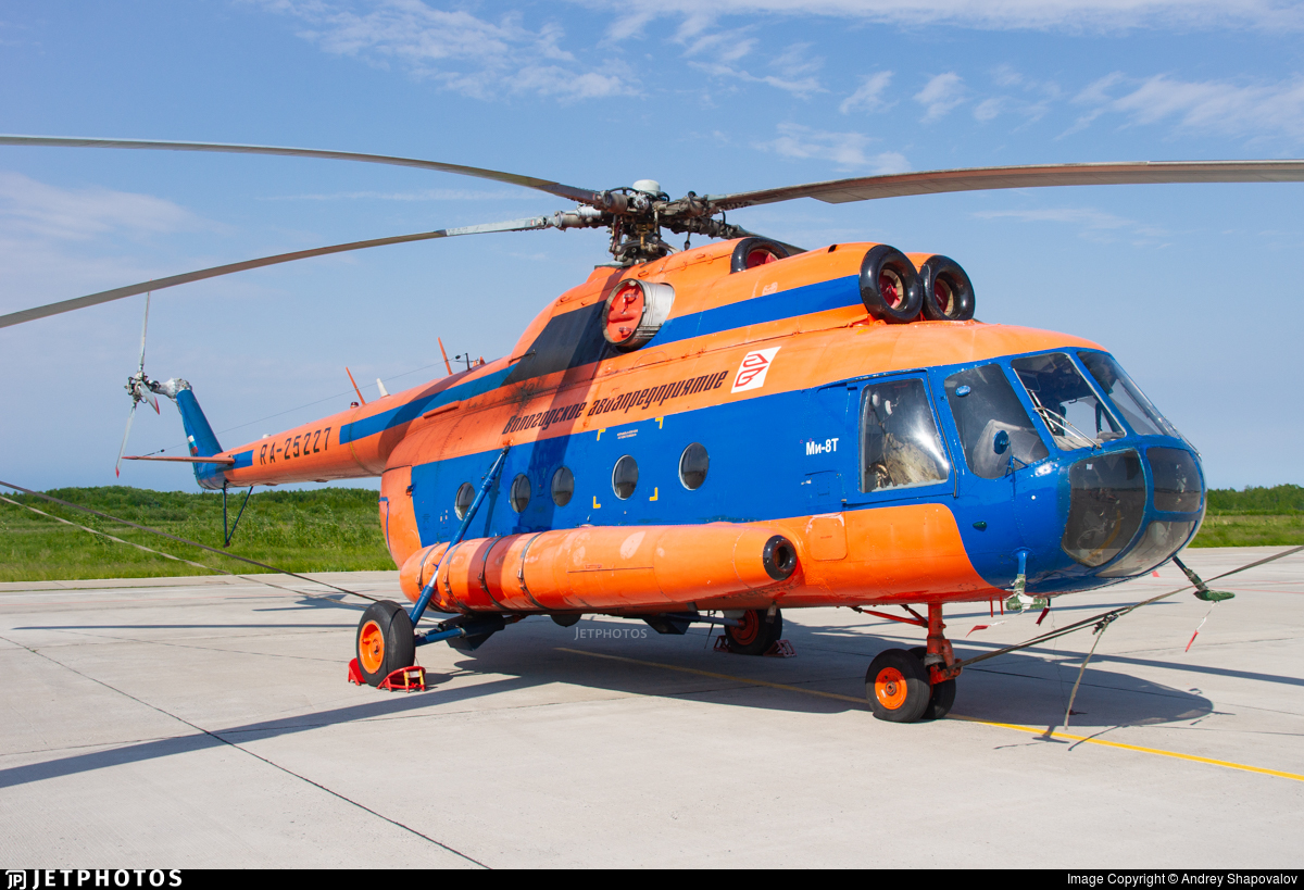 RA-25227 - Mil Mi-8TB Hip - Vologodskie Airlines