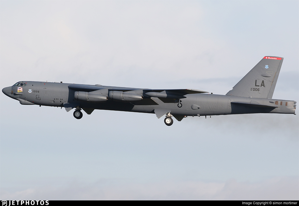 61-0006 - Boeing B-52H Stratofortress - United States - US Air Force (USAF)