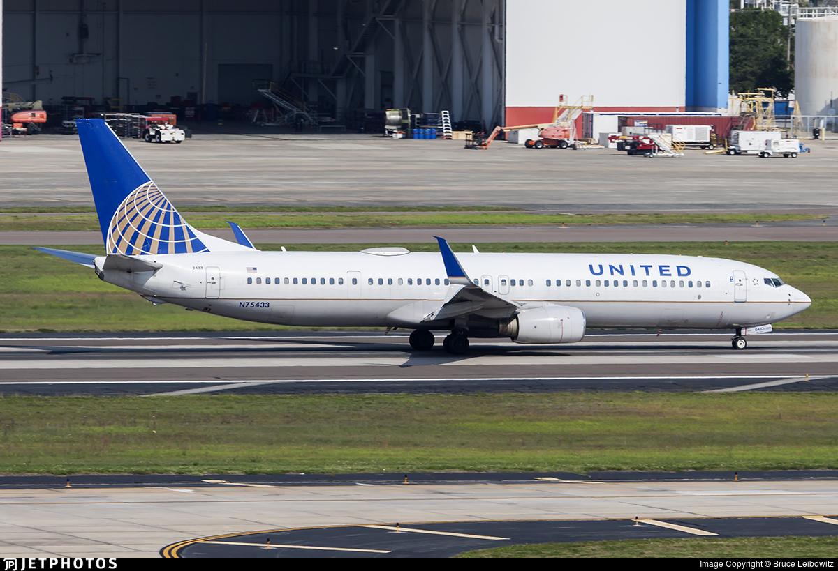 N75433 - Boeing 737-924ER - United Airlines