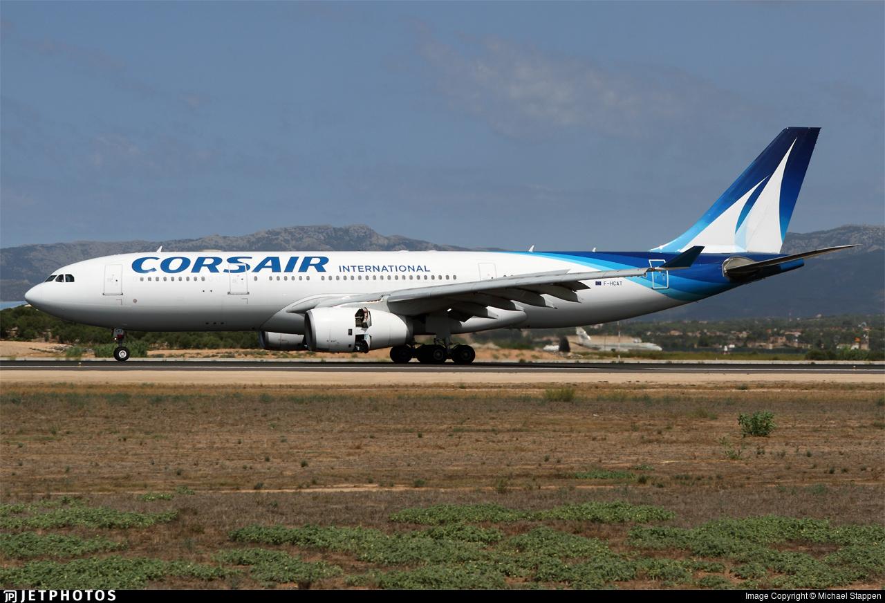 F-HCAT - Airbus A330-243 - Corsair