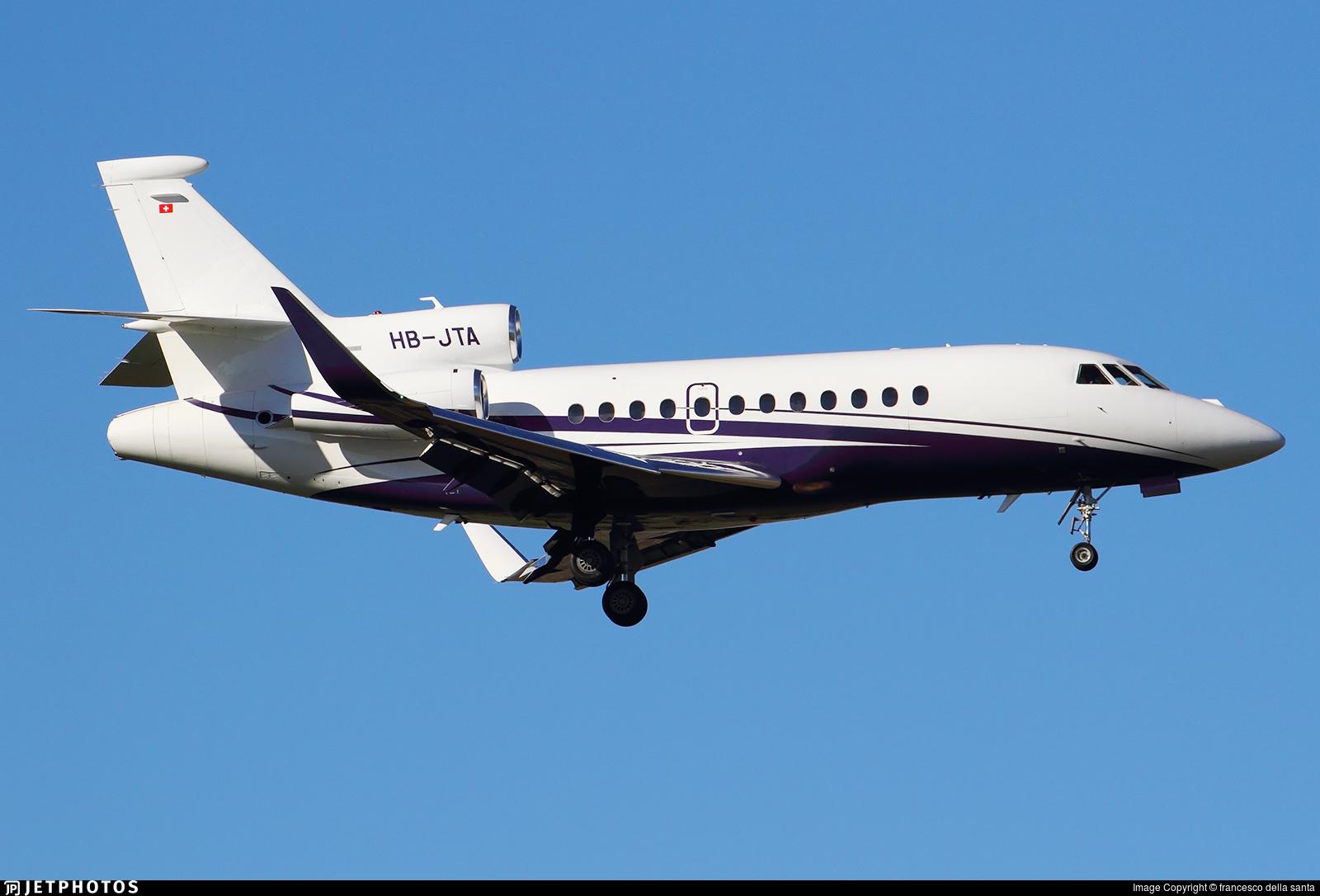 HB-JTA - Dassault Falcon 900LX - Air Sarina