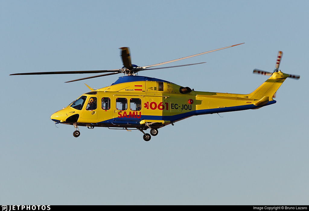 EC-JOU - Agusta-Westland AW-139 - Babcock MCS Spain