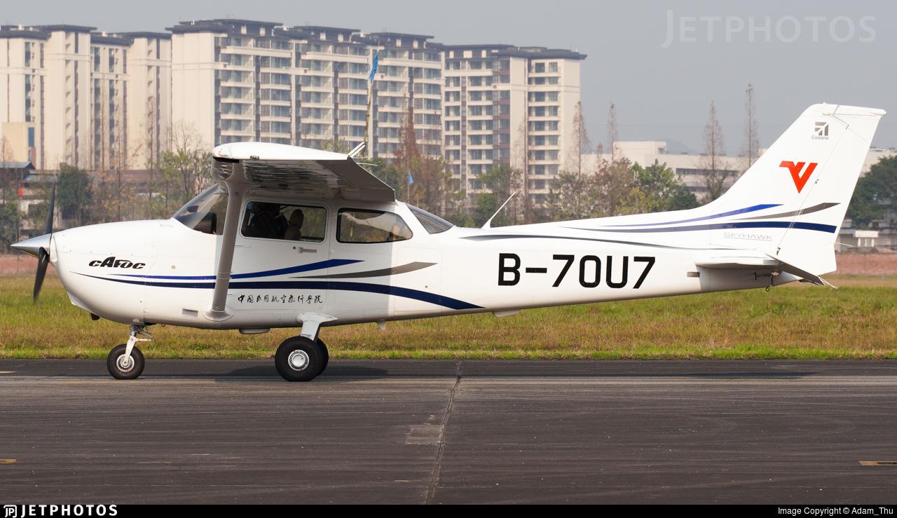 B-70U7 - Cessna 172S Skyhawk SP - Civil Aviation Flight University of China
