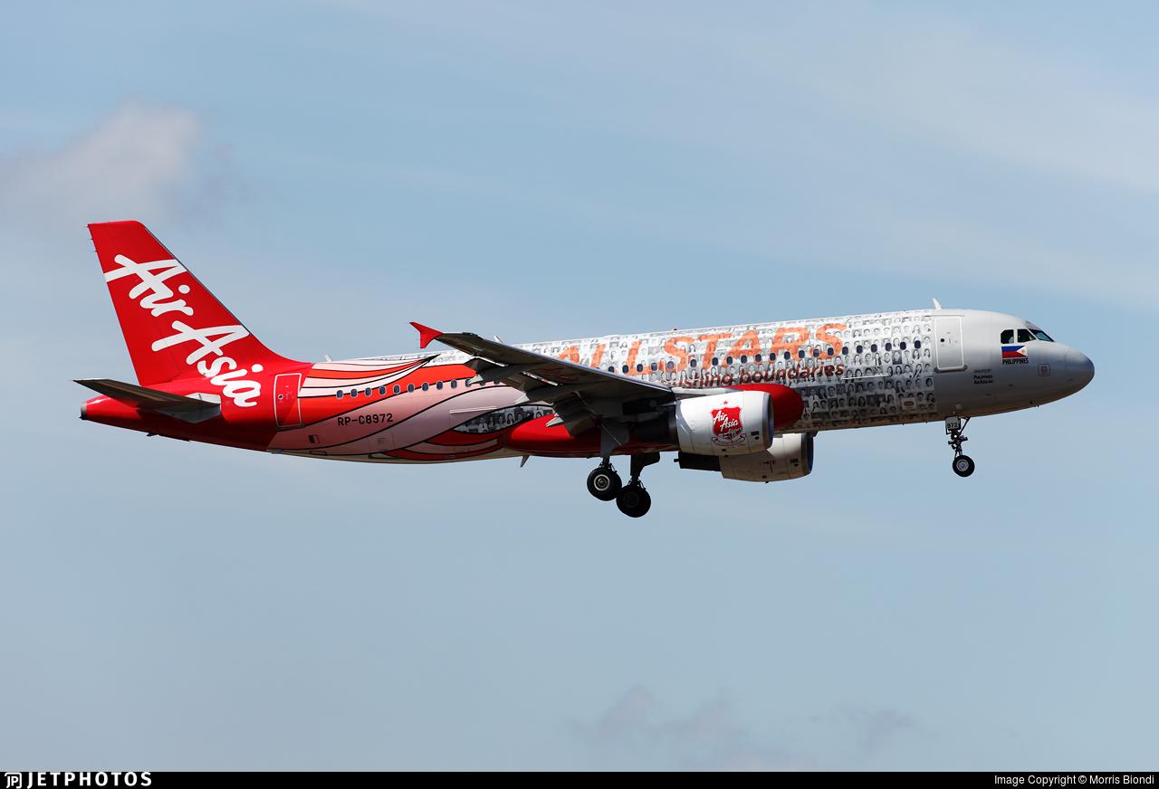 RP-C8972 - Airbus A320-216 - Philippines AirAsia