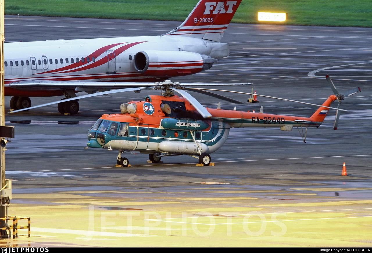 RA-22449 - Mil Mi-8P Hip - Alrosa Airlines